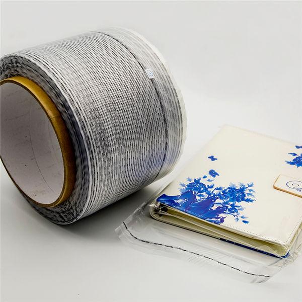 帯電防止再封可能袋粘着テープ